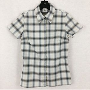 Lacoste Stretch Checkered Shirt